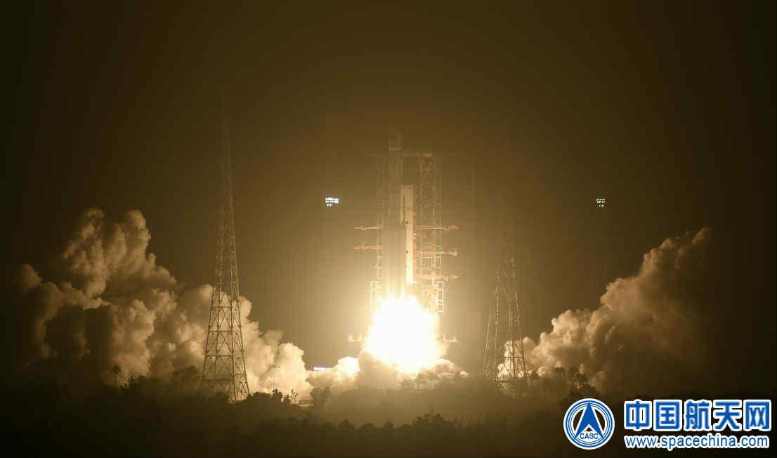 我国新一代运载火箭长七A成功发射试验九号卫星